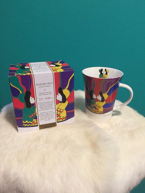 Winter Kiss mug