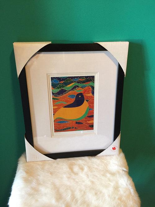 Shorebird l framed card