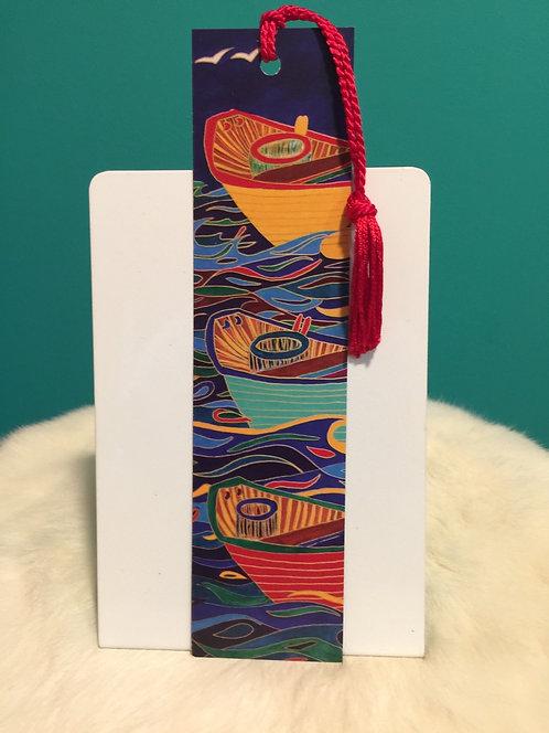 Three Dories Bookmark