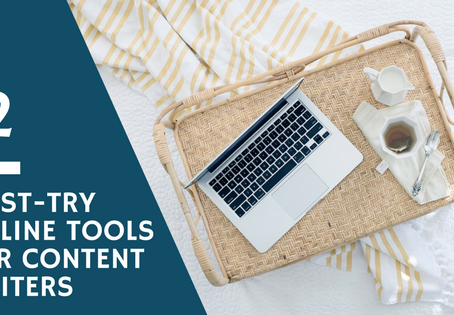 12 must-try online tools for content writers