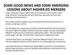 College Mergers_Kimball April 10-14