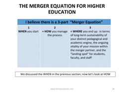 College Mergers_Kimball April 10-18
