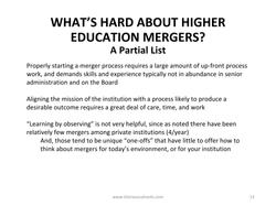 College Mergers_Kimball April 10-13