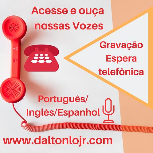 Voz para URA Português/Inglês/Espanhol