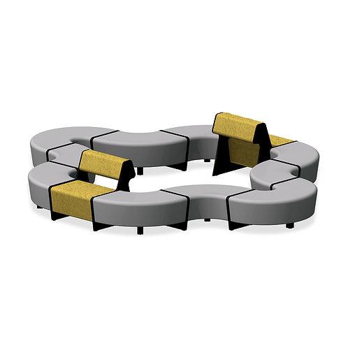 Système modulable de sièges Magnes II