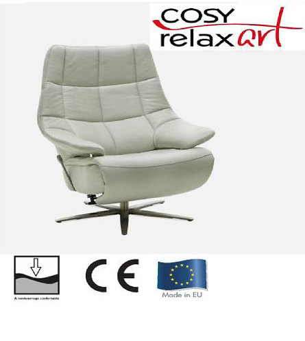 Fauteuil de relaxation electrique  avec aide au lever HUKLA