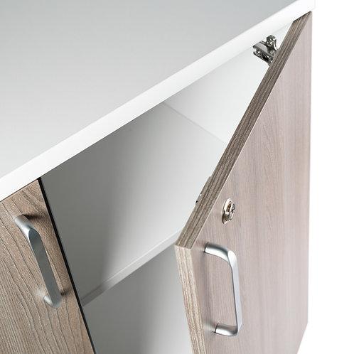 meuble de rangement mixte de qualité pour l'aménagement de vos espaces de travail