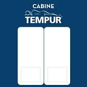 icone cabine Tempur de tests matelas