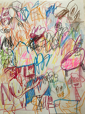Chris Oliveria art drawing