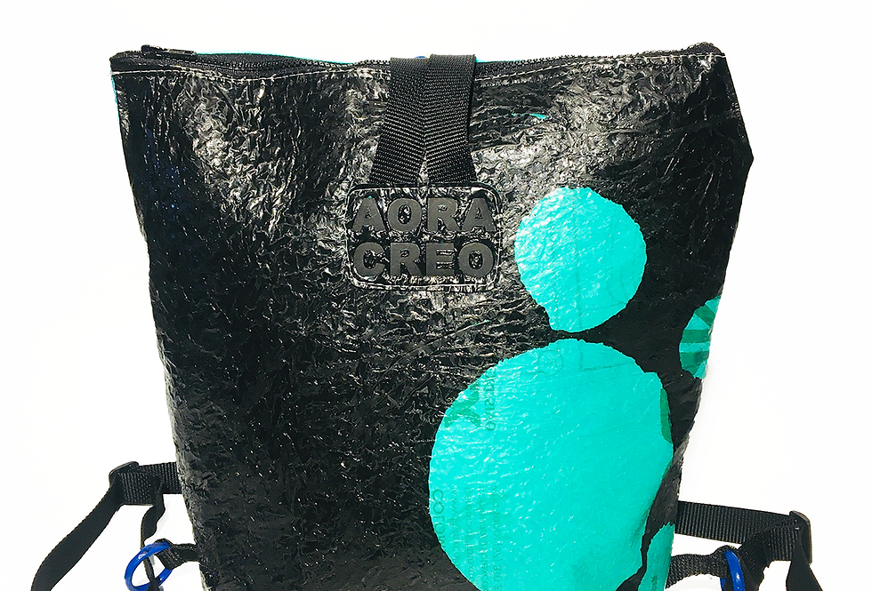 Green dots - Tote pack