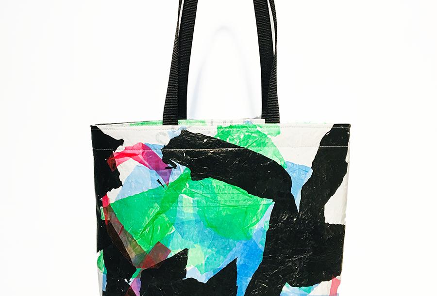 Technicolor cow - Tote bag