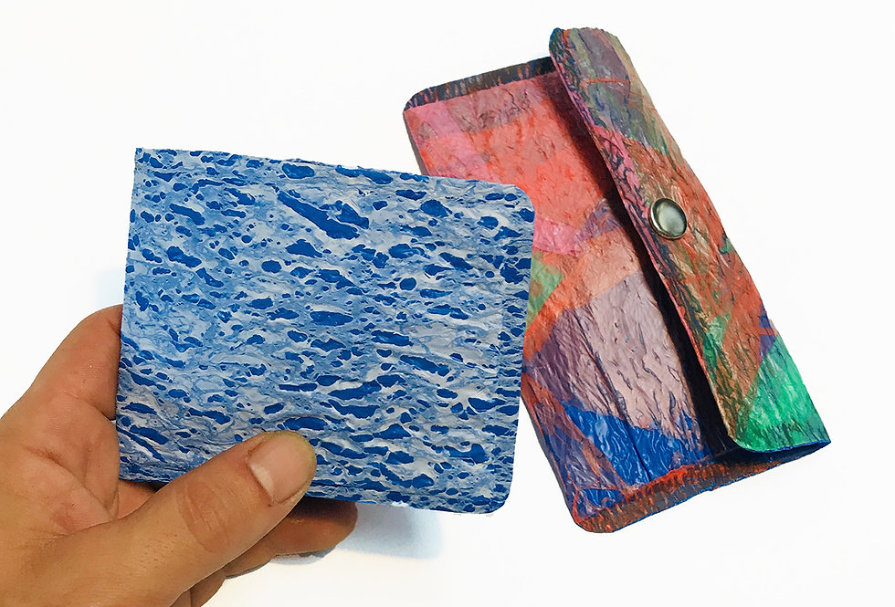 DIY PLAYE wallet and pouch - Upcycling kit