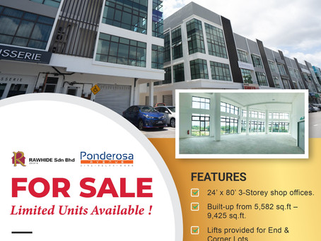 Ponderosa Avenue For Sale! Limited Units Available!