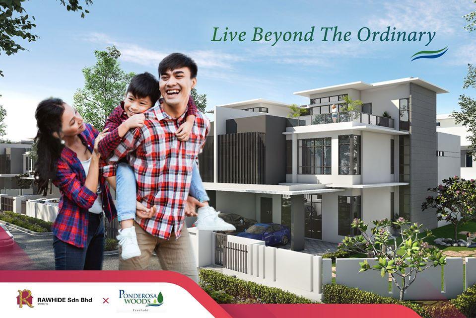 3 storey Semi D @ Ponderos Woods Johor Bahru