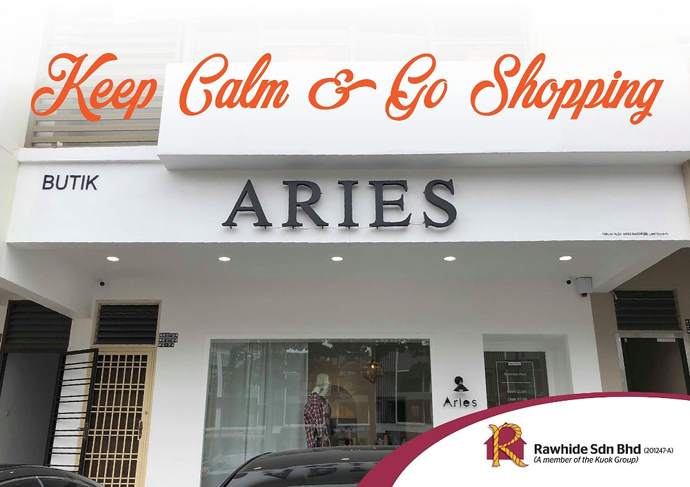 Aries Studio @ 3 Storey Shop Ponderosa
