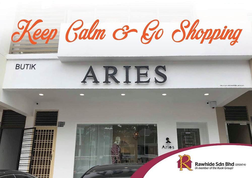 Aries Studio @ 3 Storey Shop Ponderosa