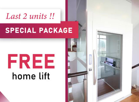 Last 2 Units Special Package! Free Homelift!