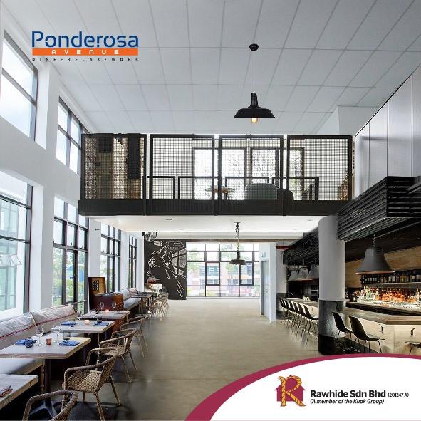 Double Volume Commercial Space @ 3 Storey Shop Office Ponderosa Avenue JB