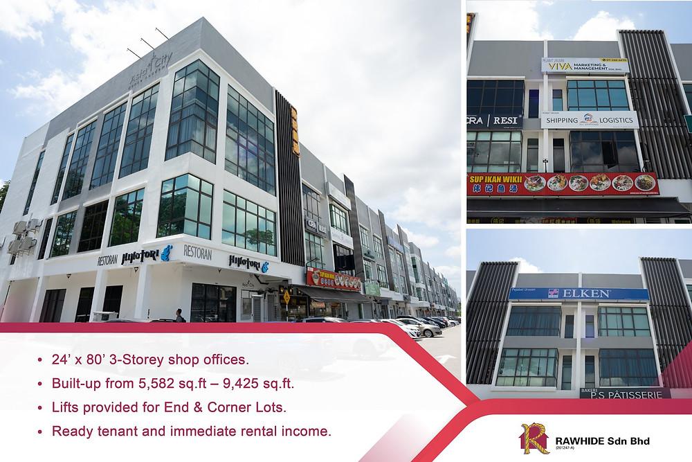 3 Storey Shopoffice @ Ponderosa Avenue Johor Bahru