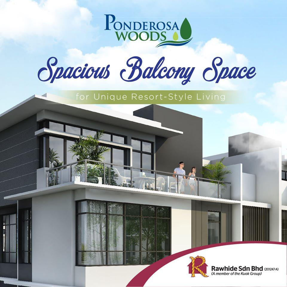 3 Storey Semi D @ Ponderosa Woods Johor Bahru