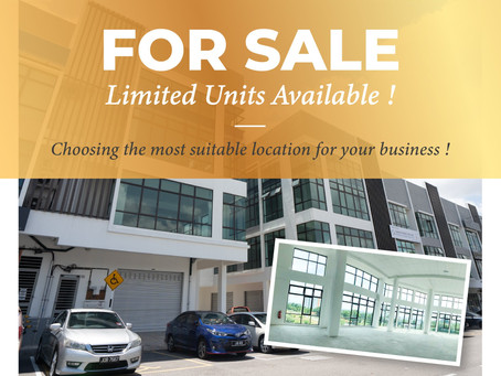 Shop for Sale! Limited Units Available!
