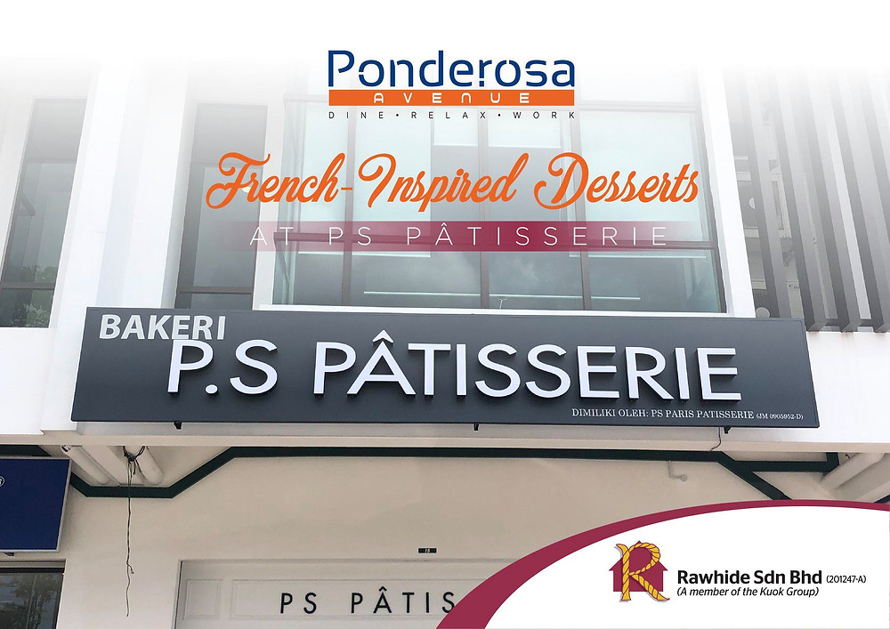 PS Pâtisserie is now open at Ponderosa Avenue!
