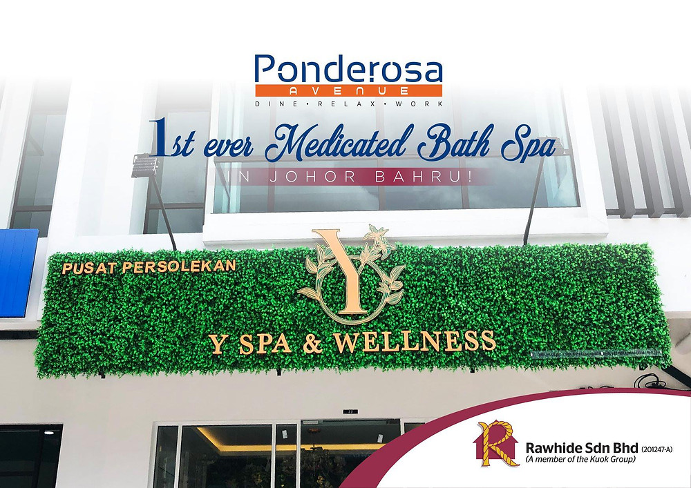 Y Spa & Wellness @ 3 Storey Shop Office Ponderosa Avenue