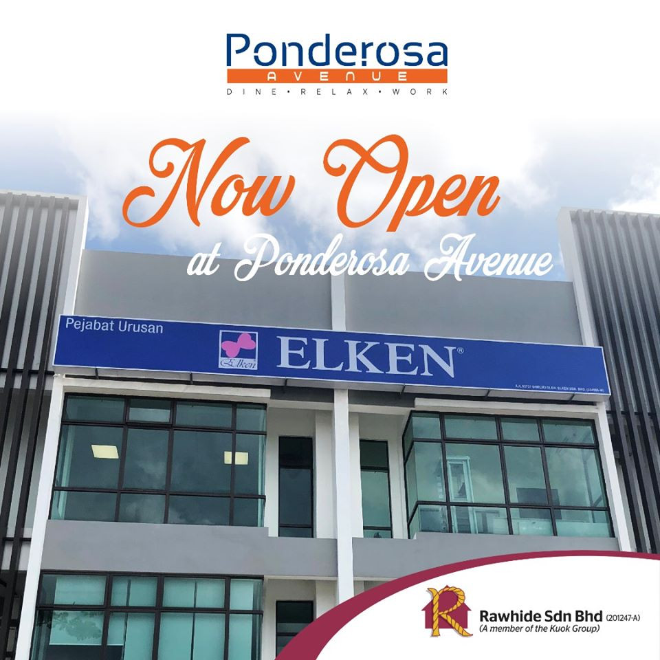 Elken @ 3 Storey Shop Office Ponderosa Avenue
