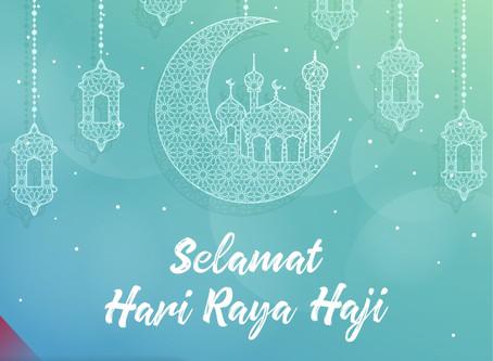 """""""Selamat Hari Raya Haji."""""""