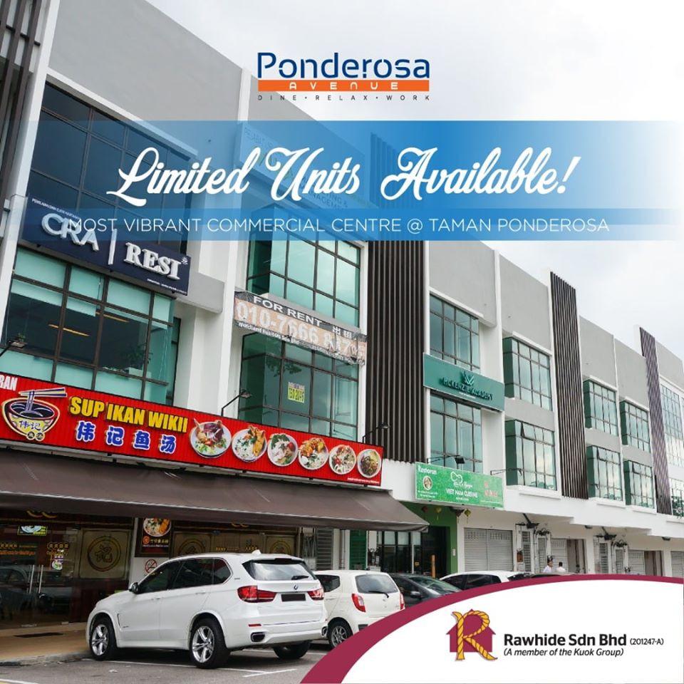 3 Storey Shop Office Ponderosa Avenue Johor Bahru