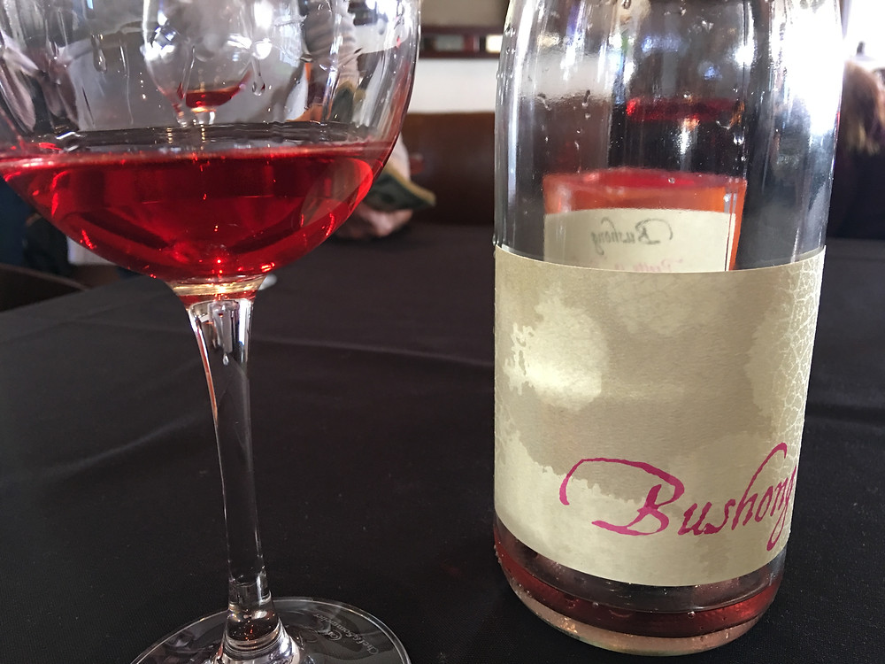 Bushong Rosé Downtown Paso Robles Wineries