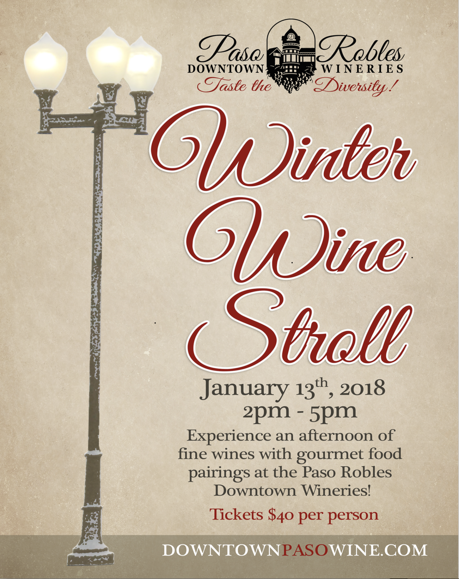 Winter Wine Stroll 2018