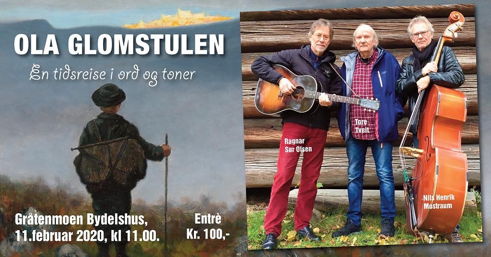 Fra venstre: Ragnar Sør Olsen, Tore Tveit og Nils Henrik Mostraum.