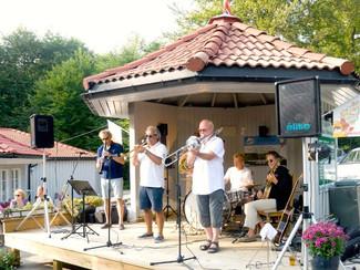RSO med Røshnes Jazzband i Bøkeskogen 1.aug. 2014