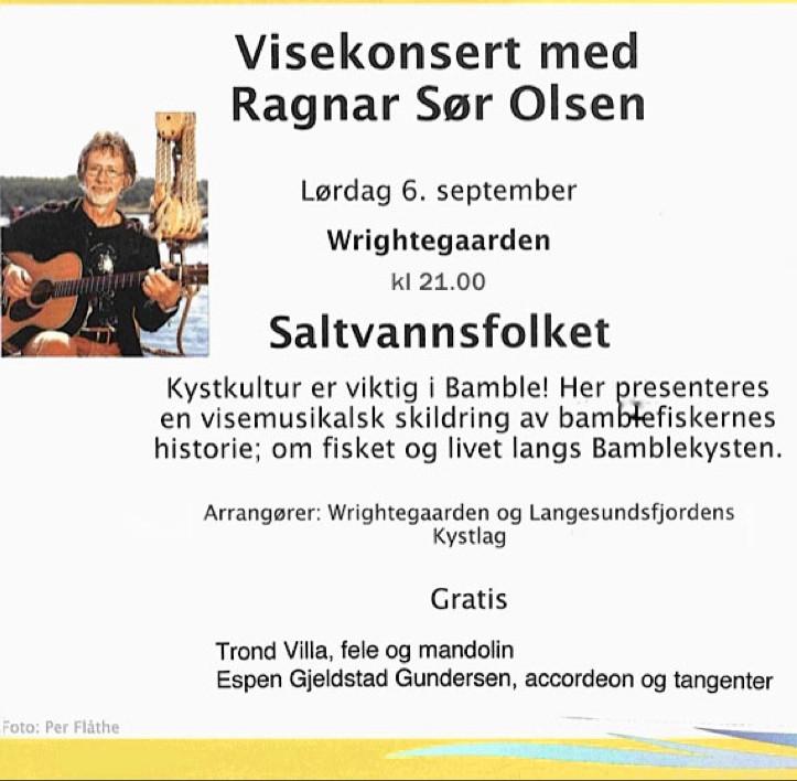 Plakat Saltvannsfolket