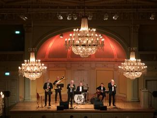Stilig konsert med Røshnes Jazzband i Gamle Logen i Oslo, 9.november 2019.