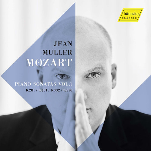 CD:Mozart Piano Sonatas Vol.1