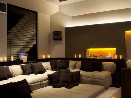 Salas de TV Modernas e Confortáveis