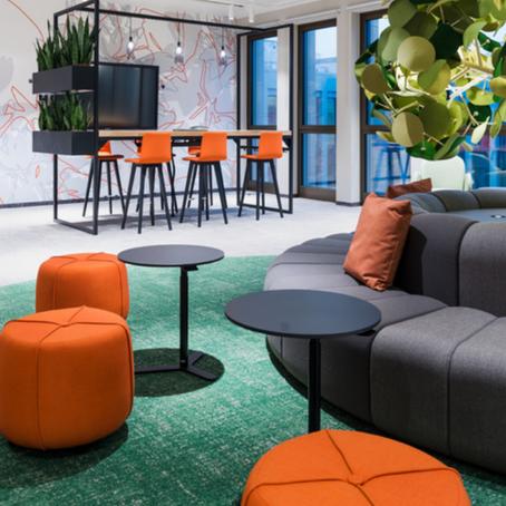 Como planejar móveis para espaços flexíveis de trabalho