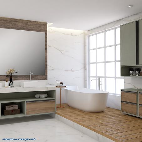 Banheiros: móveis essenciais