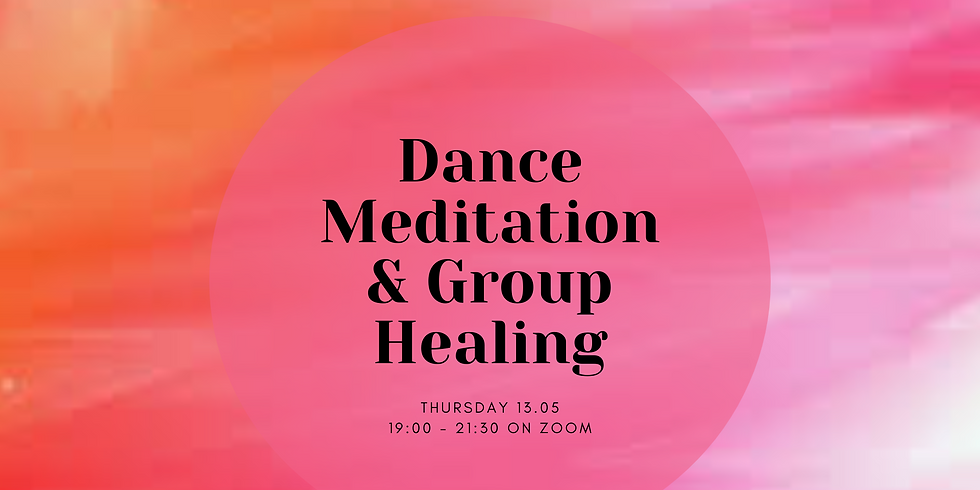 Online Dance Meditation & Group Healing