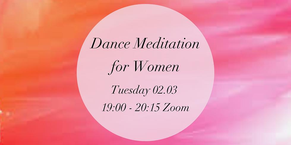 Online Dance Meditation - Women