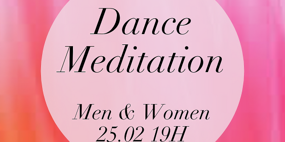 Online Dance Meditation - Men & Women