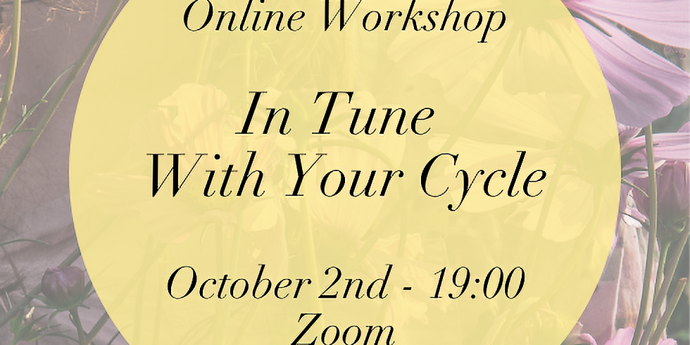 In Tune With Your Cycle