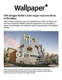 Wallpaper, ODA designs Rubik's Cube-esqu