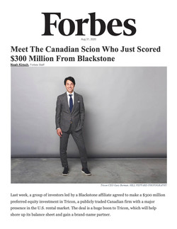 Forbes, Meet The Canadian Scion Who Just