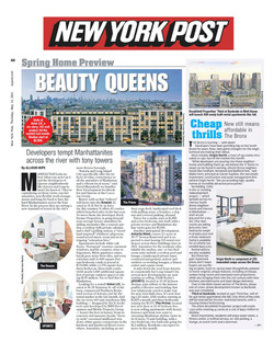 New York Post, Spring Preview Queens w:o