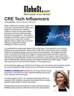 Globest.com, CRE Tech Influencers, 02