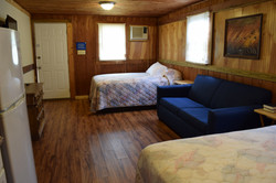 21 - 2 Double beds 1 Sleeper Sofa