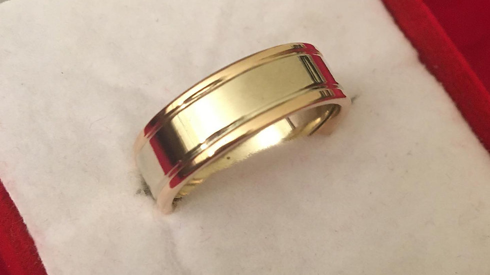 22K Gold Ring Band